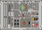 F14A Seat Detail Set GRU7A for Tamiya -- Plastic Model Aircraft Accessory -- 1/32 Scale -- #32502