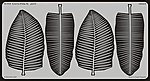 Palm Leaves II -- Miscellaneous Detailing Item -- 1/35 Scale -- #35616