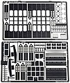 Photo Etch Set He 111 Bomb Bay -- Plastic Model Aircraft Decal -- 1/48 Scale -- #48426