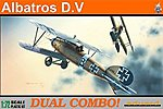 Albatros D V Fighter Dual Combo -- Plastic Model Airplane Kit -- 1/72 Scale -- #7021
