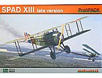 Spad XIII USAAC Aircraft -- Plastic Model Airplane Kit -- 1/72 Scale -- #7053