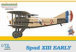 Spad XIII Early C1 BiPlane (Weekend Edition) -- Plastic Model Airplane Kit -- 1/72 Scale -- #7411