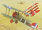 Sopwith F.1 Camel RFC -- Plastic Model Airplane Kit -- 1/48 Scale -- #8057
