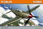 P39L/N Airacobra Aircraft (Profi-Pack) -- Plastic Model Airplane Kit -- 1/48 Scale -- #8066