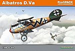 Albatros D Va BiPlane (Profi-Pack) -- Plastic Model Airplane Kit -- 1/48 Scale -- #8111