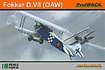 Fokker D VII (OAW) BiPlane (Profi-Pack) -- Plastic Model Airplane Kit -- 1/48 Scale -- #8131