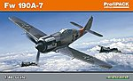 Fw190A7 Fighter (Profi-Pack) -- Plastic Model Airplane Kit -- 1/48 Scale -- #8172