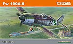 Fw190A9 Late WWII Fighter (Profi-Pack) -- Plastic Model Airplane Kit -- 1/48 Scale -- #8187