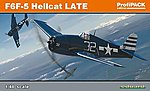 F6F5 Hellcat Late Fighter (Profi-Pack) -- Plastic Model Airplane Kit -- 1/48 Scale -- #8224