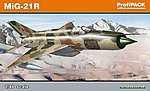 MiG21R Fighter (Profi-Pack) -- Plastic Model Airplane Kit -- 1/48 Scale -- #8238