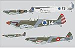Spitfire Mk IXe Fighter (Profi-Pack Plastic Kit) -- Plastic Model Airplane -- 1/48 -- #8283