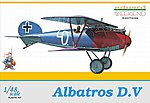 Albatros D V BiPlane (Weekend Edition) -- Plastic Model Airplane Kit -- 1/48 Scale -- #8407