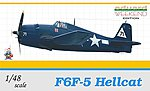 F6F5 Hellcat Fighter (Weekend Edition) -- Plastic Model Airplane Kit -- 1/48 Scale -- #8434