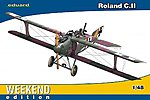 Roland C II BiPlane Fighter (Weekend Edition) -- Plastic Model Airplane Kit -- 1/48 Scale -- #8445