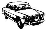 Rover 3/L sedan - HO-Scale