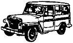 Jeep Wagon - HO-Scale