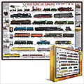 History of Trains Collage (1000pc) -- Jigsaw Puzzle 600-1000 Piece -- #60251