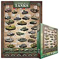 History of Tanks (1000pc) -- Jigsaw Puzzle 600-1000 Piece -- #60381