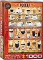 Coffee Variety Collage (1000pc) -- Jigsaw Puzzle 600 1000 Piece -- #60589