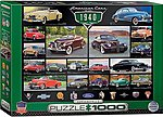 American Cars 1940's Collage (1000pc) -- Jigsaw Puzzle 600-1000 Piece -- #60675