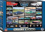 American Cars 1950's Collage (1000pc) -- Jigsaw Puzzle 600-1000 Piece -- #60676
