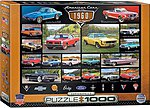 American Cars 1960's Collage (1000pc) -- Jigsaw Puzzle 600-1000 Piece -- #60677