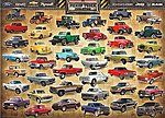 American Pick-Up Truck Evolution (1000pc) -- Jigsaw Puzzle 600-1000 Piece -- #60681