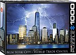 New York City World Trade Center (1000pc) -- Jigsaw Puzzle 600-100 Piece -- #60731