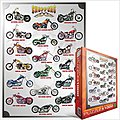 Chopper Motorcycles Collage (1000pc) -- Jigsaw Puzzle 600-1000 Piece -- #61021