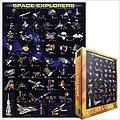 Space Explorers (Spacecraft) Collage (1000pc) -- Jigsaw Puzzle 600-1000 Piece -- #62001