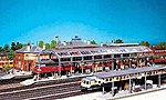Passenger Station Canopy -- HO Scale Model Railroad Building -- #120180