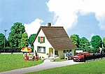 Chalet with Porch -- HO Scale Model Railroad Building -- #130204