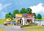 Small Food Stand Kit -- HO Scale Model Railroad Building -- #130212