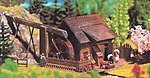 Watermill with Pump -- HO Scale Model Railroad Building -- #130225