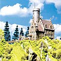 Lichtenstein Castle -- HO Scale Model Railroad Building -- #130245