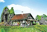 Half-Timbered Chalet Kit -- HO Scale Model Building -- #130277