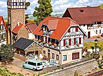 Sonne Inn with Summer House Kit -- HO Scale Model Railroad Building -- #130438