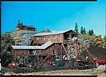 Old Coal Mine Painted/Weathered -- HO Scale Model Railroad Building -- #130470