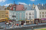 2 Town Houses Kit #2 -- HO Scale Model Railroad Building -- #130703