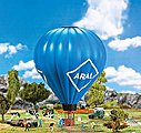 Hot Air Balloon w/Working LED Flame Effects Kit -- HO Scale Model Accessory -- #131001