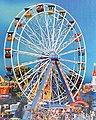 Ferris Wheel -- HO Scale Model Railroad Building -- #140312