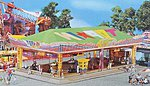 ''Top In'' Dodgem Car Ride -- HO Scale Model Railroad Building -- #140435