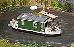 House Boat Kit -- HO Scale Model Railroad Vehicle/Building -- #161460