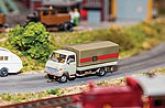 Flat-Bed Truck DB Car System -- HO Scale Model Railroad Vehicle -- #161564