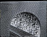 Rock Structure Tunnel Tube -- HO Scale Model Railroad Tunnel -- #170886