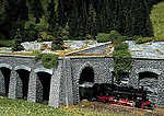 Natural Stone Ashlars Gallery Profi -- HO Scale Model Railroad Scenery -- #170892