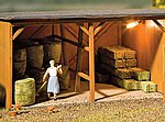 Hay Bales Kit (20 Pack) -- HO Scale Model Railroad Building Accessory -- #180907