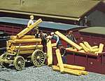 Railroad Ties (30 Pack) -- HO Scale Model Railroad Building Accessory -- #180909