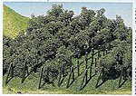 Vineyard w/Poles (36) -- Model Railroad Tree -- #181490