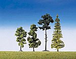 Mixed Forest Trees (15) -- Model Railroad Tree -- #181495